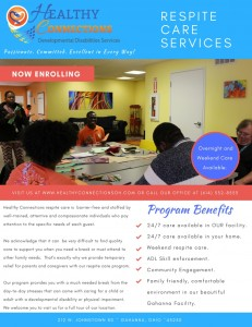 Respite Care Information Flyer