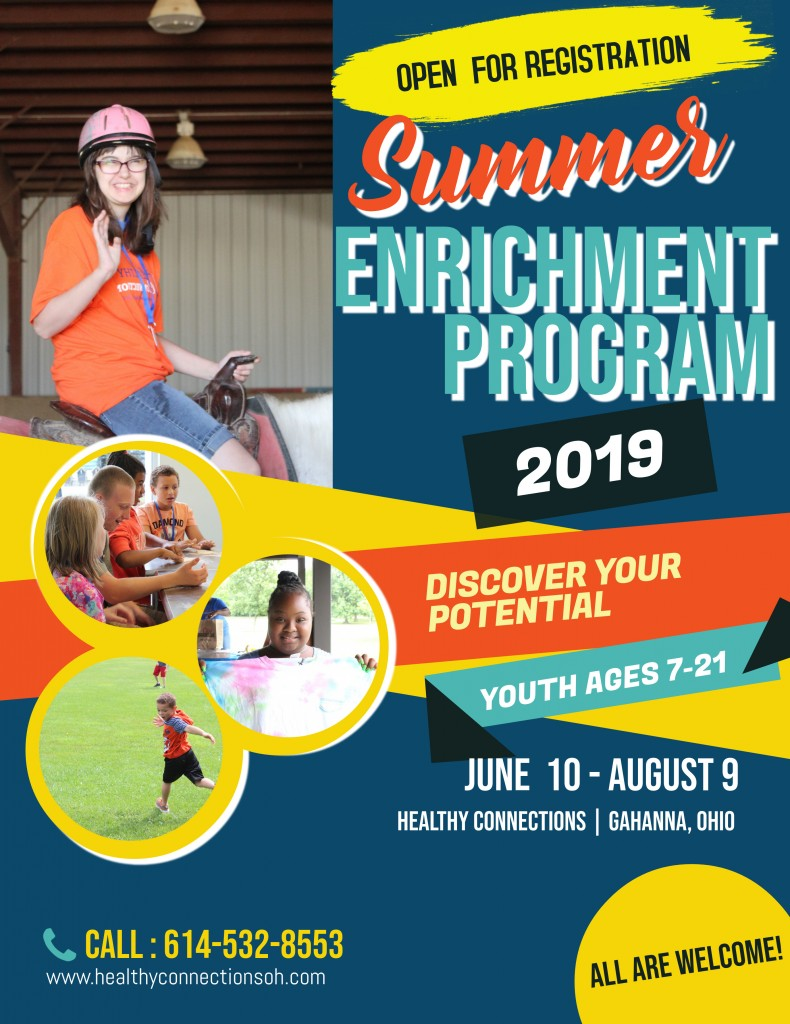 Summer Enrichment Flyer 2019